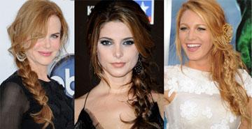 Модная прическа 2011